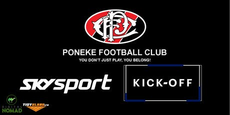 Sky Sport Kick Off @ Poneke tickets