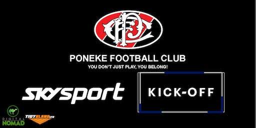 Sky Sport Kick Off @ Poneke