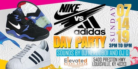 Nike VS  Adidas Day Party tickets