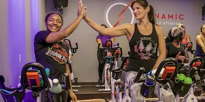 Bring a friend to a cycle class