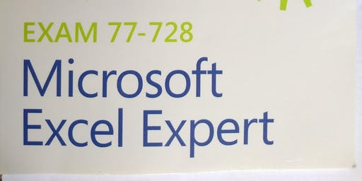 MOS: Excel Expert 2016, Test Day!!