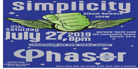 Simplicity - Detroit Homecoming and Album Release Show tickets