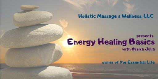 Energy Healing Basics