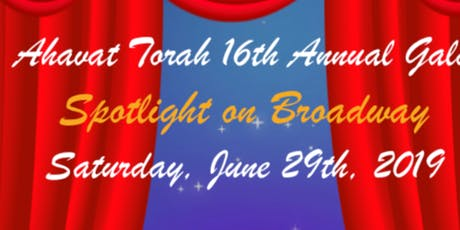 Ahavat Torah's Gala - Spotlight on Broadway tickets