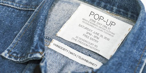 Pop - Up Clothing Event