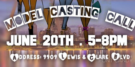 Modeling casting call  tickets