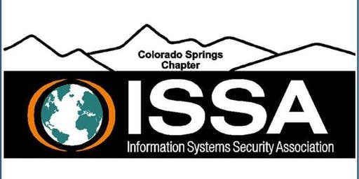 ISSA-COS July Dinner Meeting (5:30-7:30)