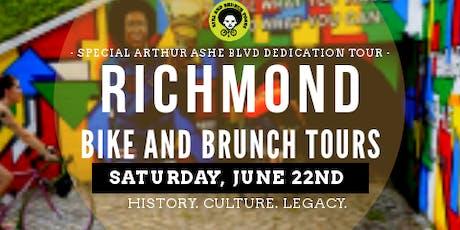 Bike & Brunch Tours: RVA Mural Bike Tour 2019 (June) tickets