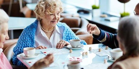 FREE Seniors Morning Tea & Games @ Pac Fair tickets