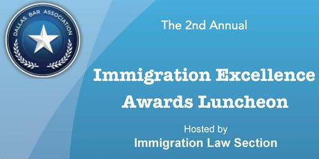 The 2nd Annual Immigration Excellence Awards  tickets