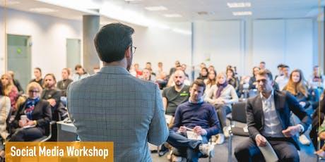 Social Media Workshop: Strategien & Konzepte für mehr Reichweite Tickets