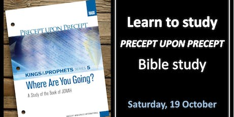 Learn to STUDY Precept Upon Precept tickets