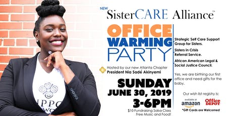 Office Warming Party for SisterCARE Alliance tickets