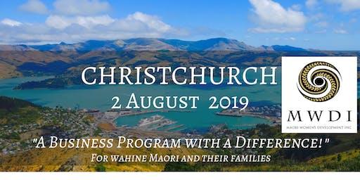 MWDI HineBoss - Christchurch