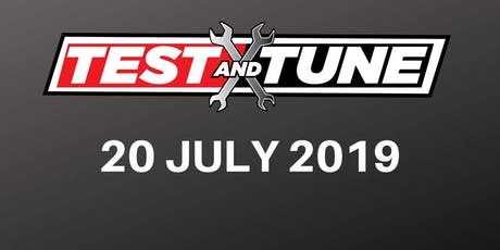 Test & Tune 20 July 2019 tickets