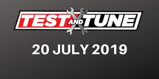 Test & Tune 20 July 2019