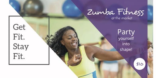 Zumba Fitness at the Market