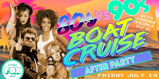 80s vs 90s Boat Cruise After Party!