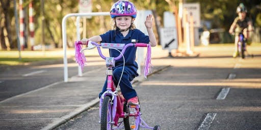 National Child Protection Week - Twilight bike riding