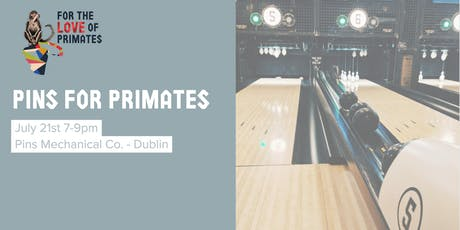 Pins for Primates tickets