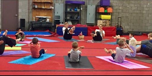 YOGA for Preschool age through age 8