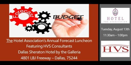 Luncheon - Forecast Meeting Featuring HVS Consultants