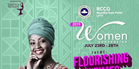 RCCG Women's Convention 2019 tickets