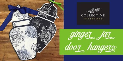 Ginger Jar Door Hangers