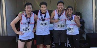 Medibank Melbourne Marathon - Join the RMIT Medibank Team