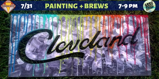 Painting + Brews at Bookhouse Brewing!