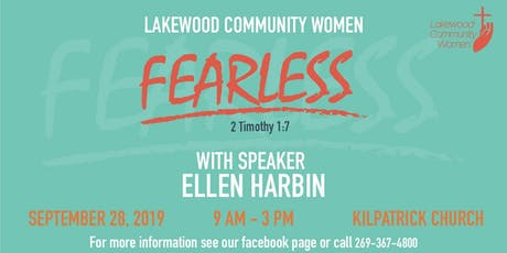 Lakewood Community Women's FEARLESS Conference tickets
