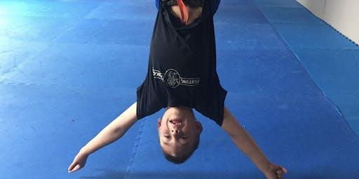 Kids Aerial Yoga & Cookie Social