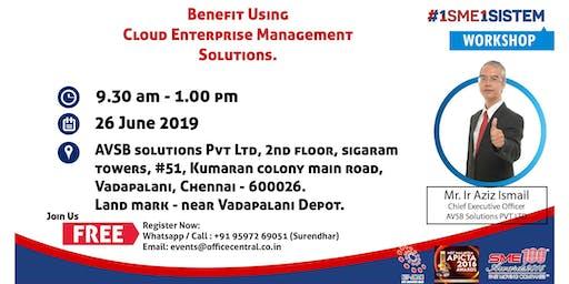 Workshop on Benefit using Cloud Enterprise Management Solution (26 June 2019)