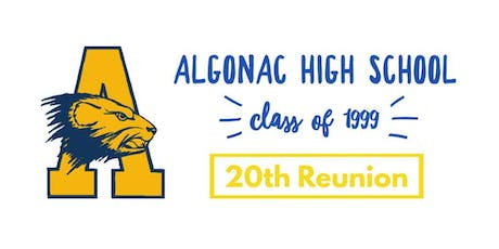 Algonac High School Class of 1999 20th Reunion tickets