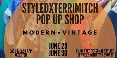 Styledxterrimitch Pop Up Shop