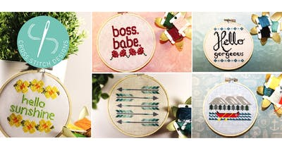Intro to Cross Stitch Workshop for Beginners @ DVLB - Waterloo