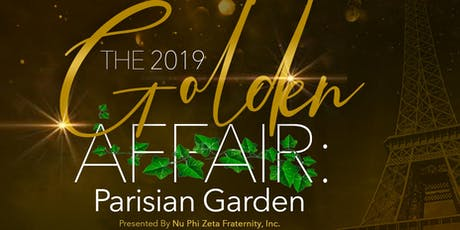 The Golden Affair: Parisian Graden tickets