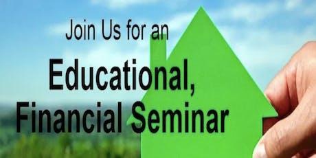 Free Educational Financial Seminar tickets