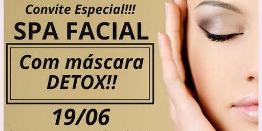 SPA FACIAL COM MÁSCARA DETOX