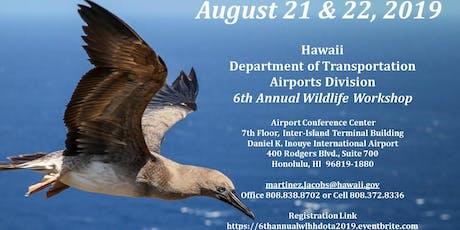 HDOTA 6th Annual Wildlife Hazard Workshop  tickets