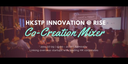HKSTP Innovation Co-Creation Mixer