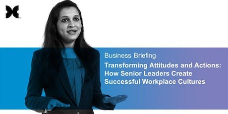 How Senior Leaders Create Engaging Workplace Cultures tickets