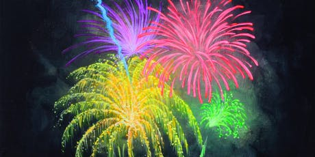 """Open Paint (10yrs+) """"Fireworks"""" tickets"""