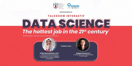 Data Science, The Hottest Job in The 21st Century tickets
