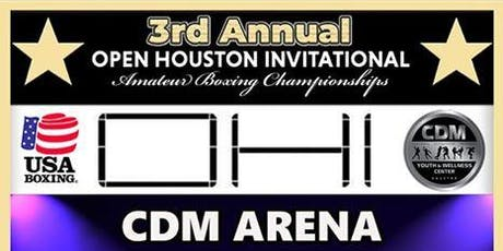 2019 Open Houston Invitational - Fighter/Coach Registration tickets