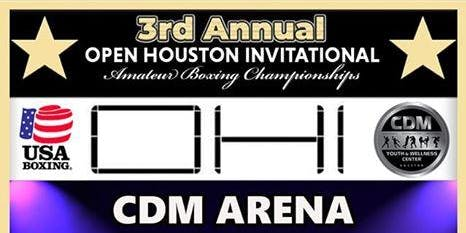 2019 Open Houston Invitational - Fighter/Coach Registration