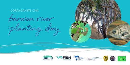 Barwon River Tree Planting Day