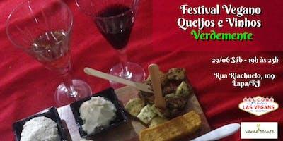 Festival Vegano de Queijos e Vinhos - Verdemente