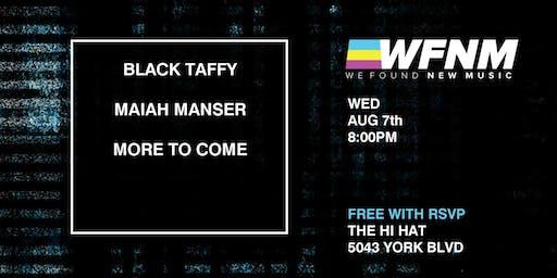 Black Taffy with Maiah Manser, Iman