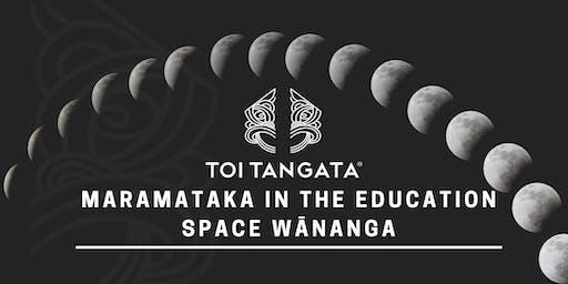Maramataka in the Education Space Wānanga